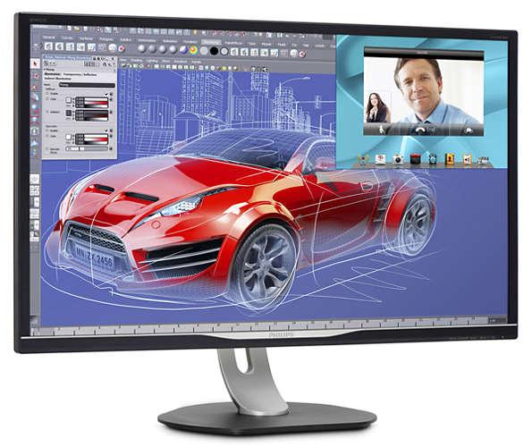 La calidad de imagen del monitor es bastante notable