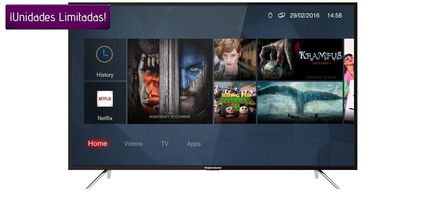 El televisor cuenta con plataforma inteligente