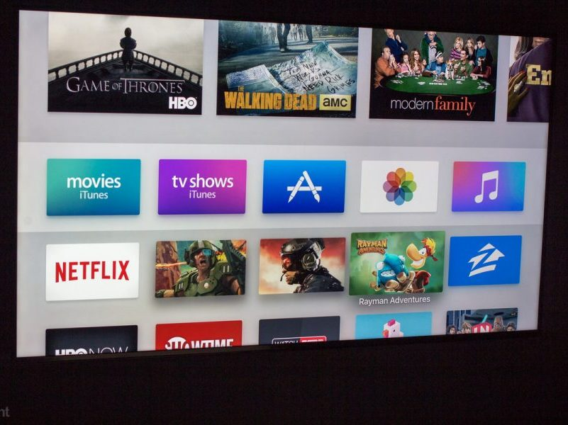 iTunes Store en Apple TV