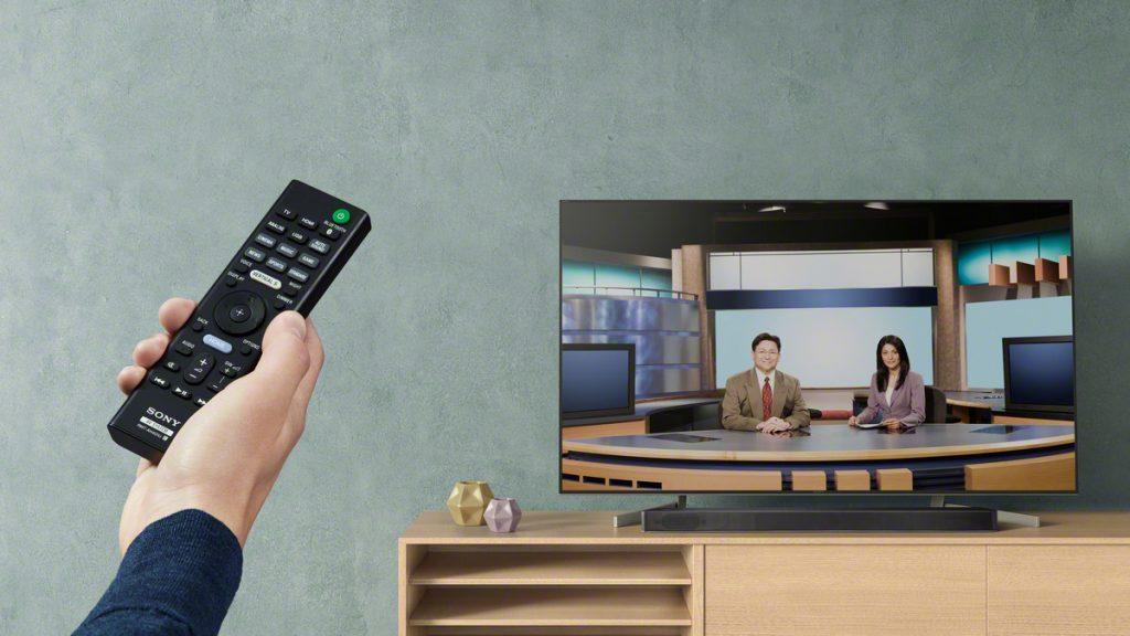Sony HT-XF9000, modos de sonido