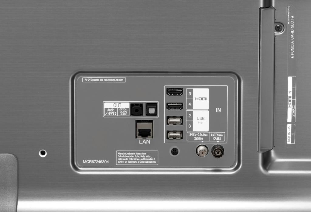 LG 55SK8100 Conexiones