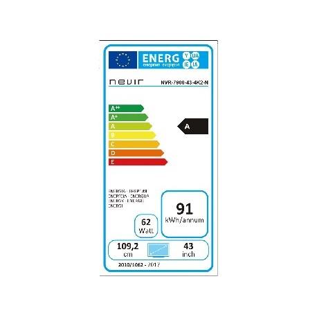 Esta es la etiqueta de certificación energética