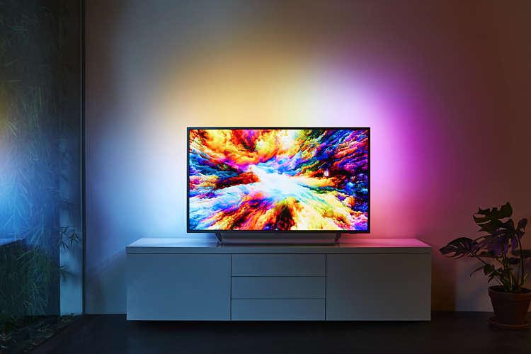 El televisor es una explosión de color