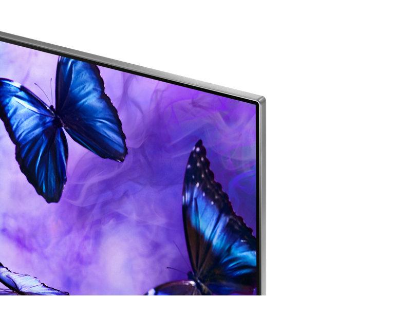 Aquí podemos ver el diseño sin marcos del Samsung 82Q6FN