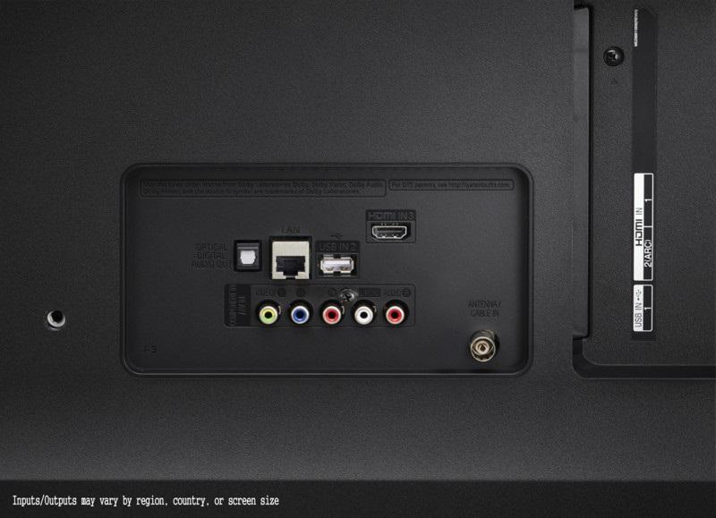 LG 55UK6470PLC, conectividad
