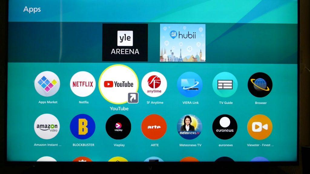 El televisor cuenta con la plataforma de Panasonic, actualizada