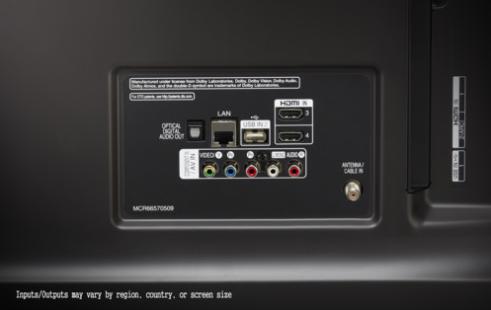 LG 43UK6750PLD incluye conectores laterales y traseros