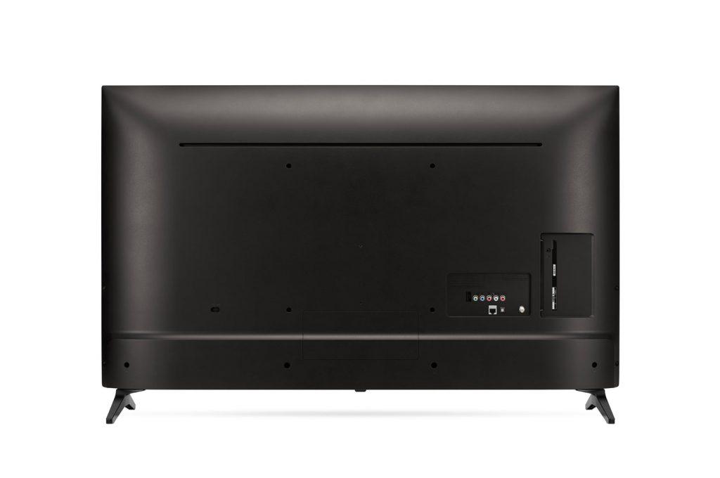 Las conexiones se alojan en la zona derecha de la carcasa trasera del televisor
