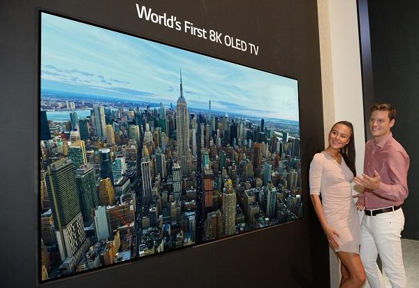 TV LG 8K OLED