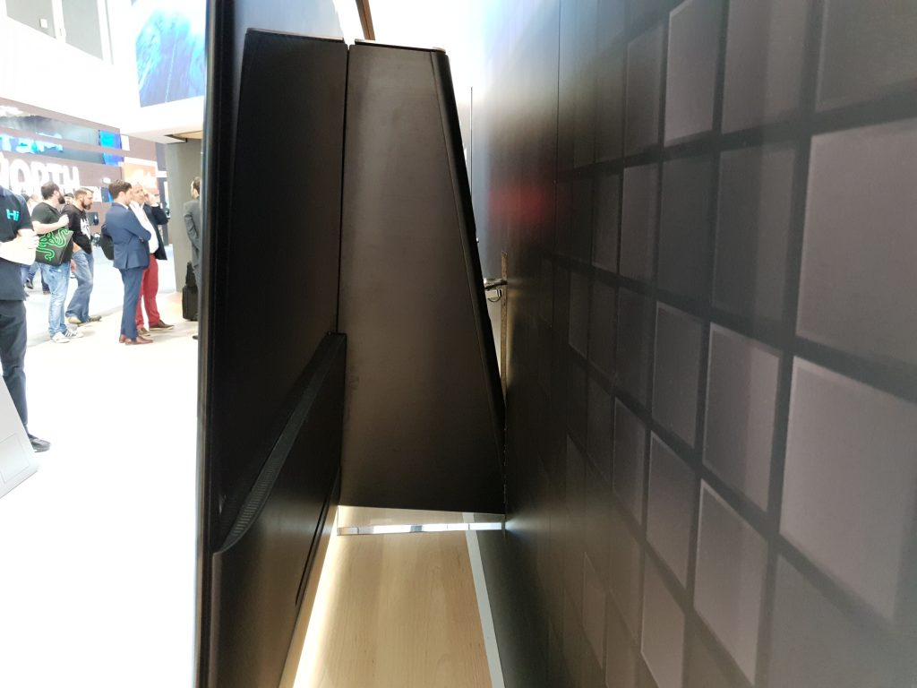 No sé qué pensar del perfil de este televisor