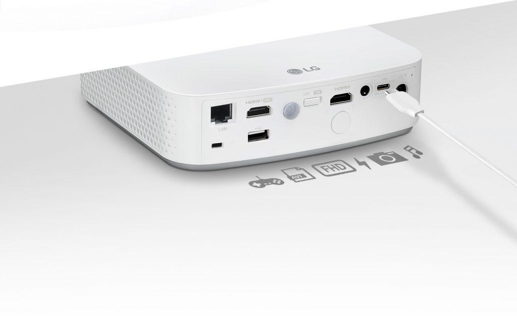 Estas son sus conexiones físicas del LG PF50KS