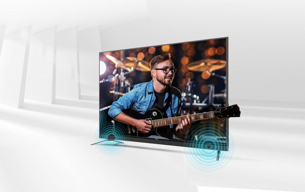 Este es el modelo más comedido de la gama premium de televisores Haier