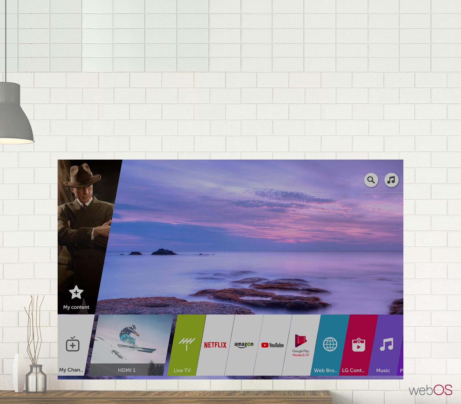 Así se ve webOS