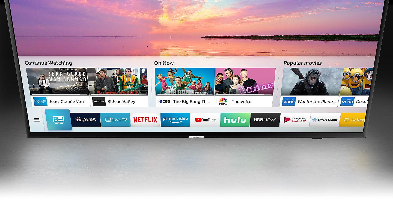 La plataforma del Samsung 55NU7025 es de lo mejorcito en el mercado actual