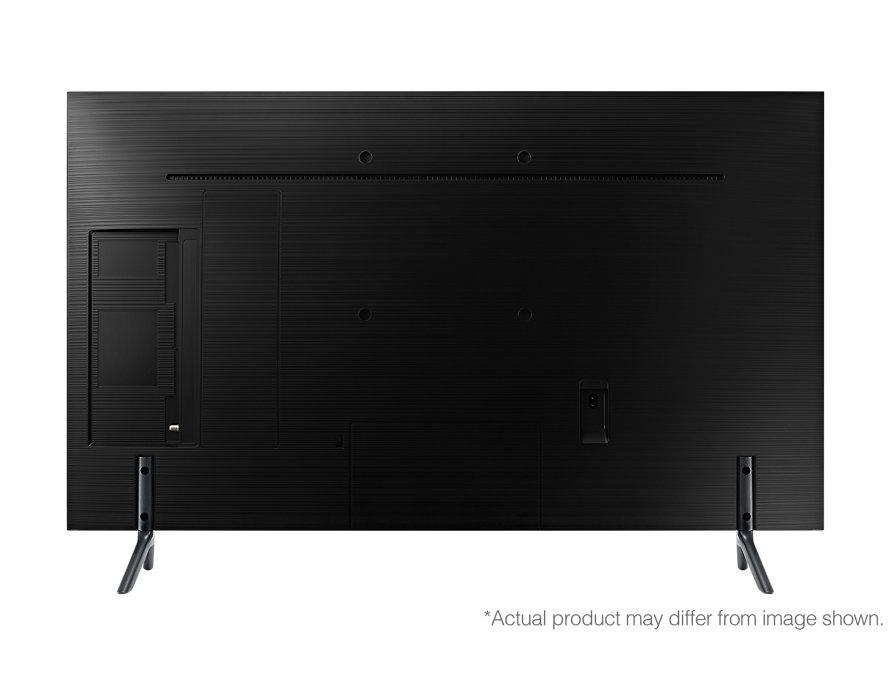 Samsung UE40NU7122KXXH tiene las conexiones en un hueco al dorso