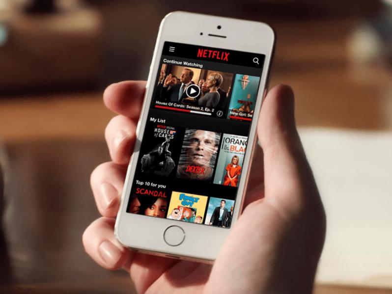 Controlar Netflix con los ojos