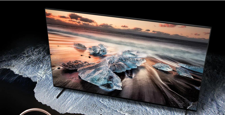 Imagen sensacional de la Samsung 65Q900