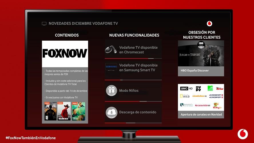 FOXNOW en VODAFONE TV