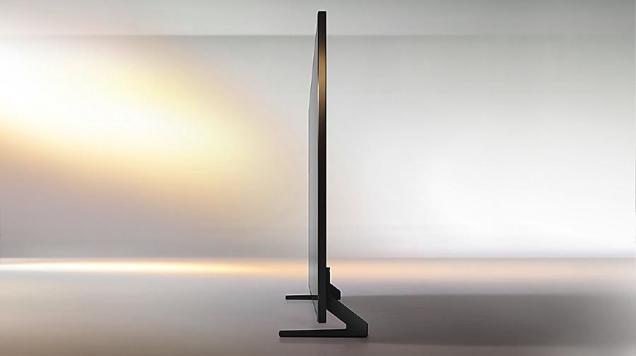 Definitivamente, Samsung QE65Q900R no es un modelo delicado
