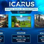 monitores Icarus baratos
