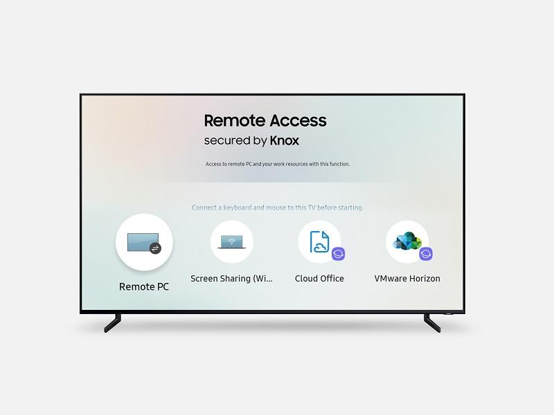 Acceso remoto de Samsung