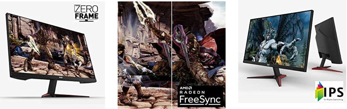Acer Nitro VG240Y con Radeon FreeSync de AMD