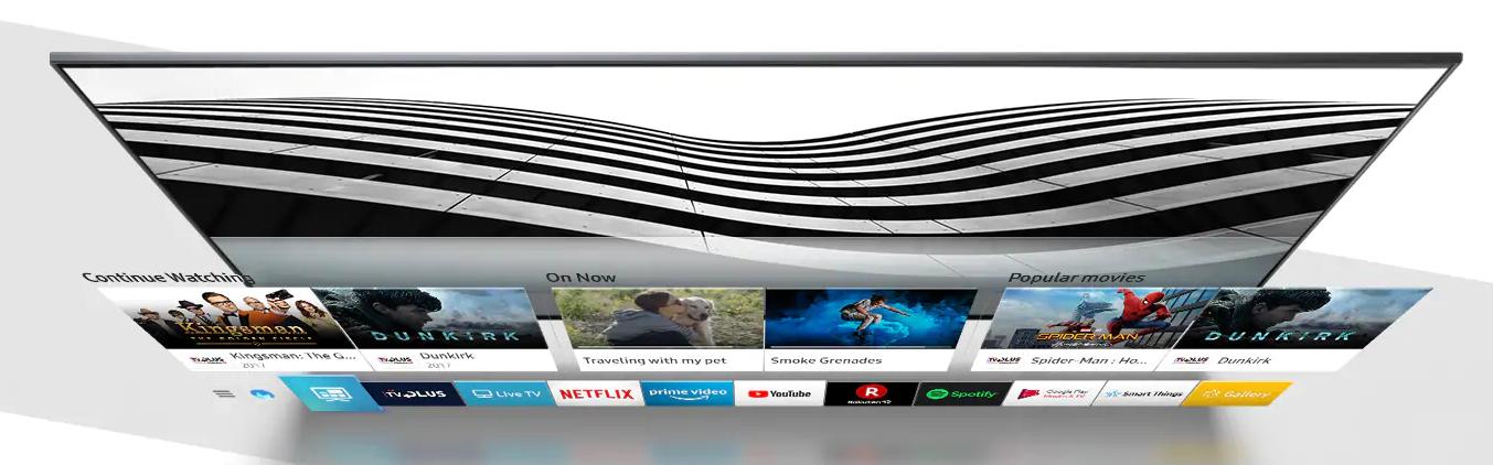 Se ha hecho un muy buen trabajo con el software del Samsung QE85Q900R
