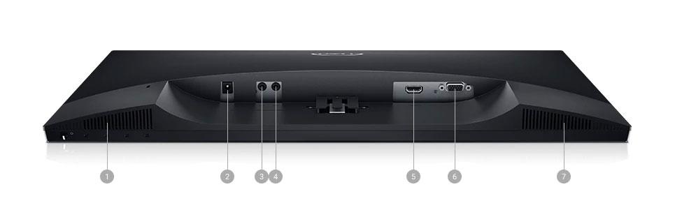 Interfaces del Dell 23 S2319H