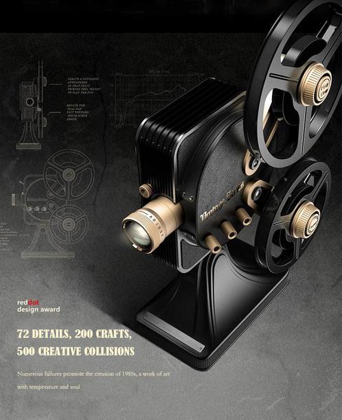 JMGO 1895S - Diseño y construcción
