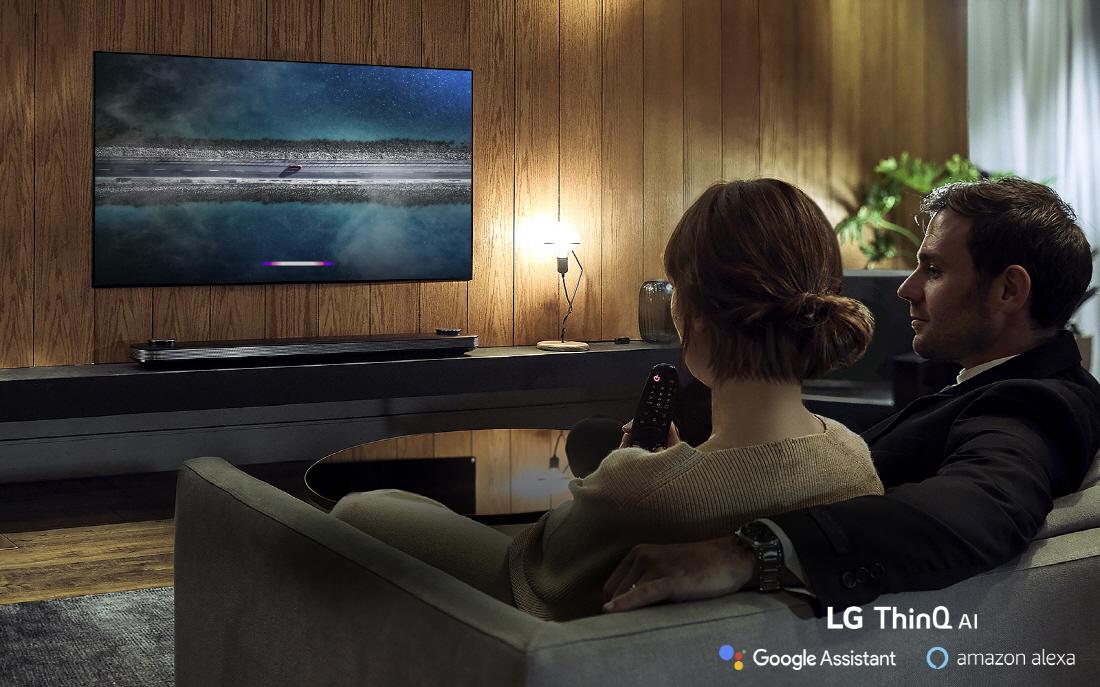 El procesador Alpha 9 de LG trabaja no sólo según el contenido sino también según las condiciones ambientales