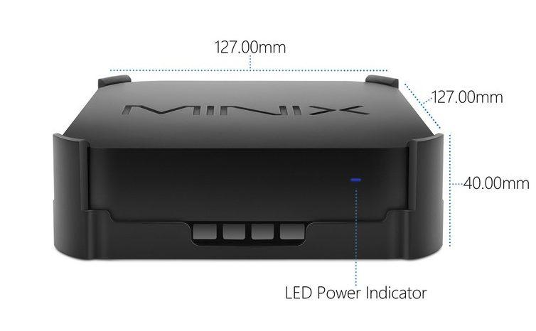 Minix Neo Z83-4 Plus - Dimensiones