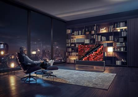 televisores enrollables de LG