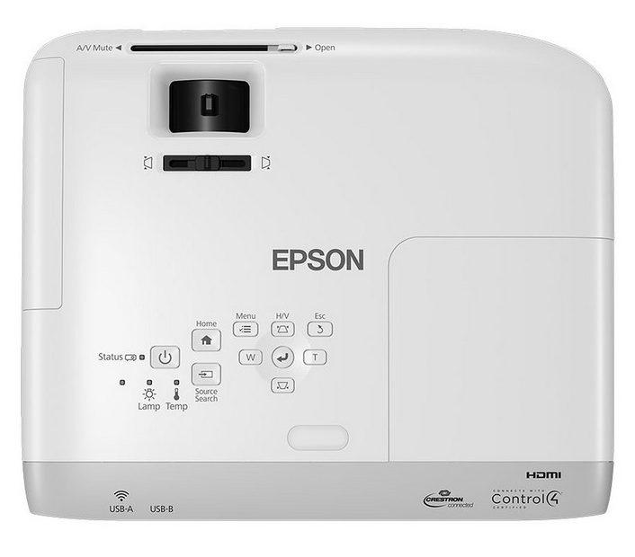 Epson EB-S39 - Parte superior, Controles