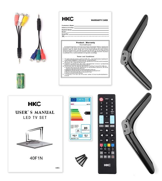 HKC 40F1N - Contenido