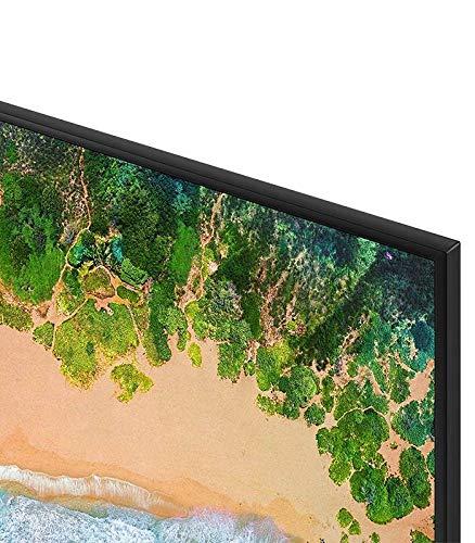 Así se ve el detalle del diseño del Samsung UE55NU7026