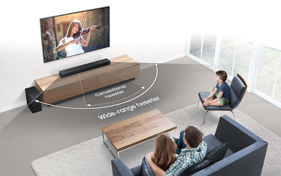 Samsung HW-N850 - calidad de sonido