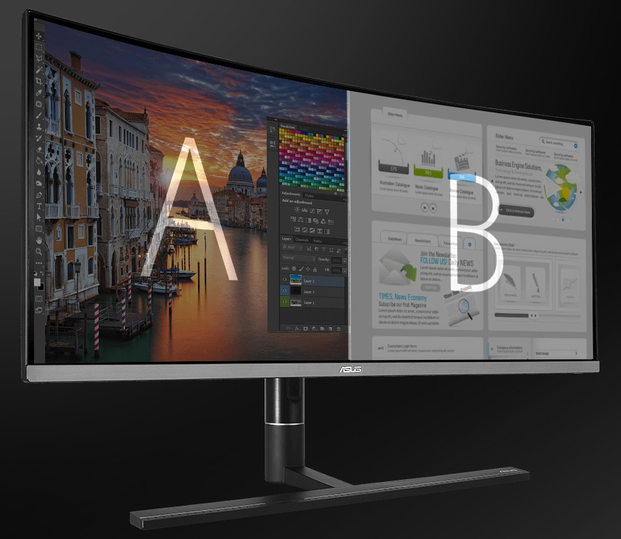 Asus ProArt PA34VC - Picture-by-Picture