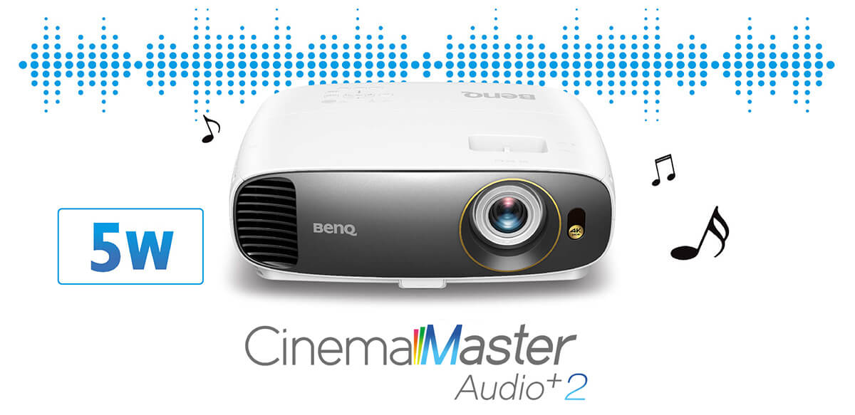 BenQ W1700 - Cinema Master Audio