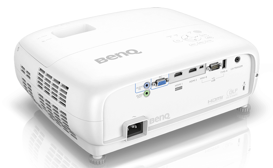 BenQ W1700 - conectividades