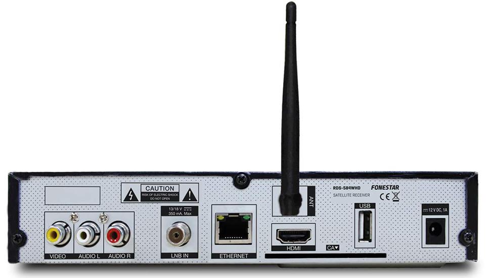Fonestar RDS-584WHD - conectividad