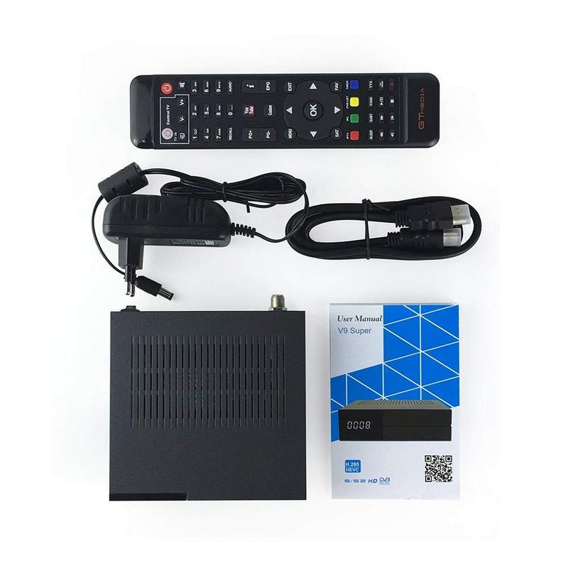 GTMedia V9 Super - Accesorios