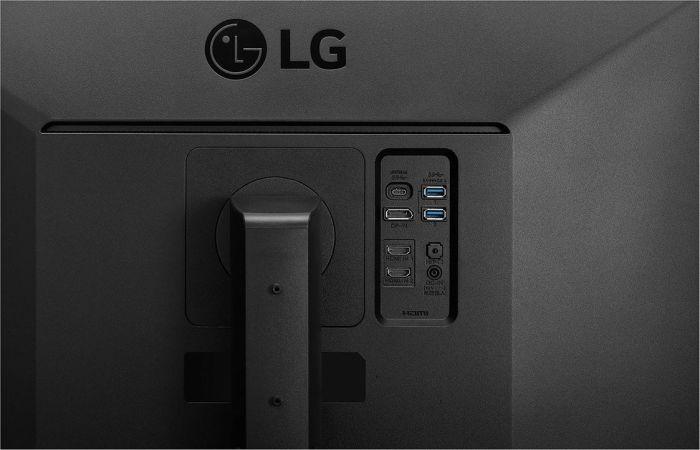 LG 27UK670-B - puertos y conexiones