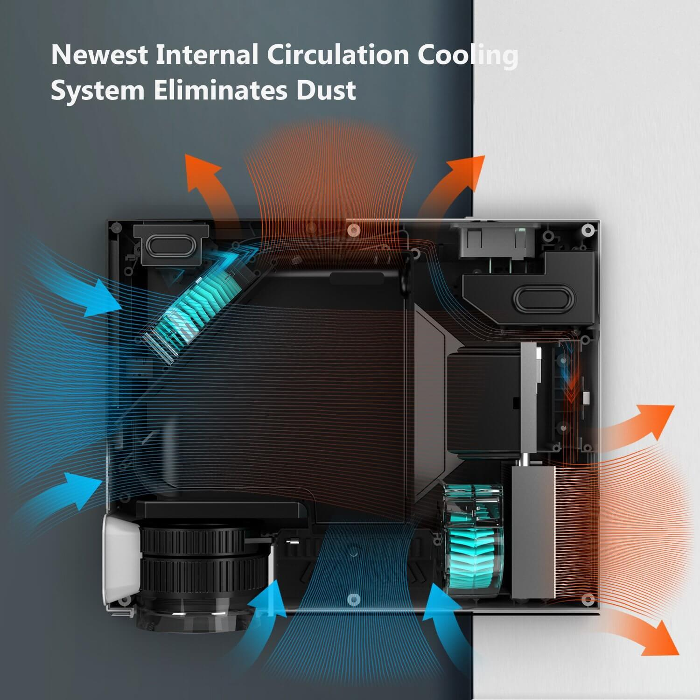 ABOX A6 - Sistema de refrigeración