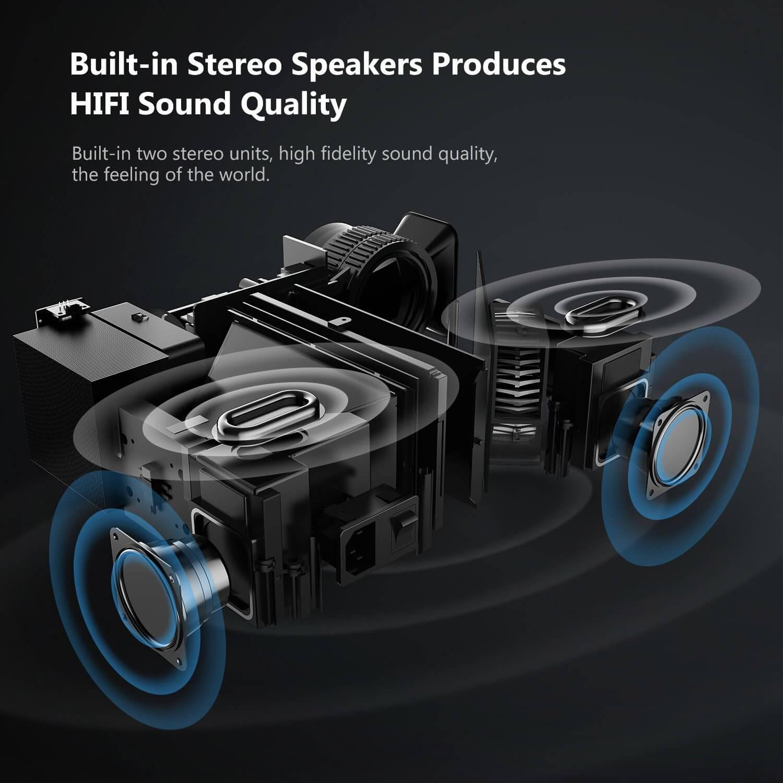 ABOX A6 - Sonido estéreo