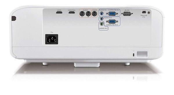 BenQ W1600UST - conexiones y puertos