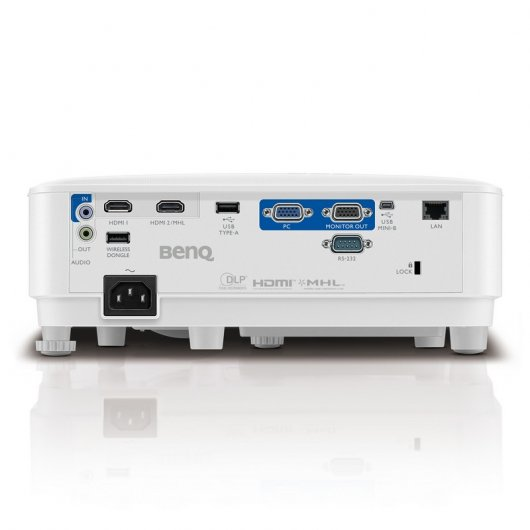 Benq MX731 - conexiones y puertos