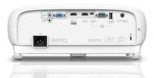 Benq TK800M - Puertos y conexiones