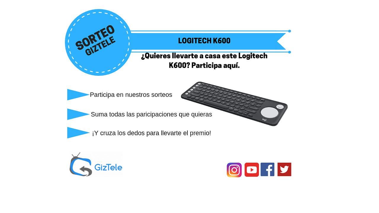 sorteo logitech k600