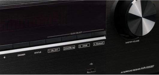 DENON AVR-X550BT - Botones de uso manual