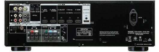 DENON AVR-X550BT - Parte posterior